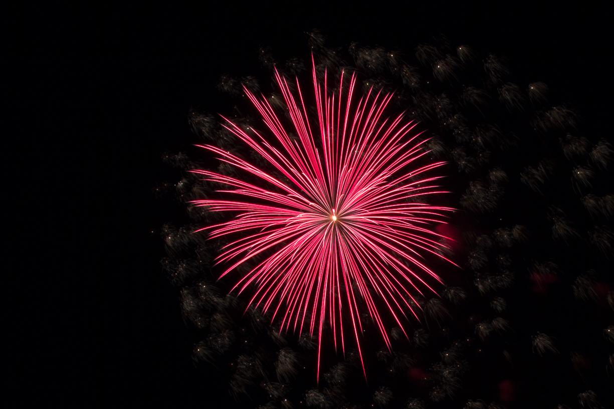 Feuerwerk in Worms