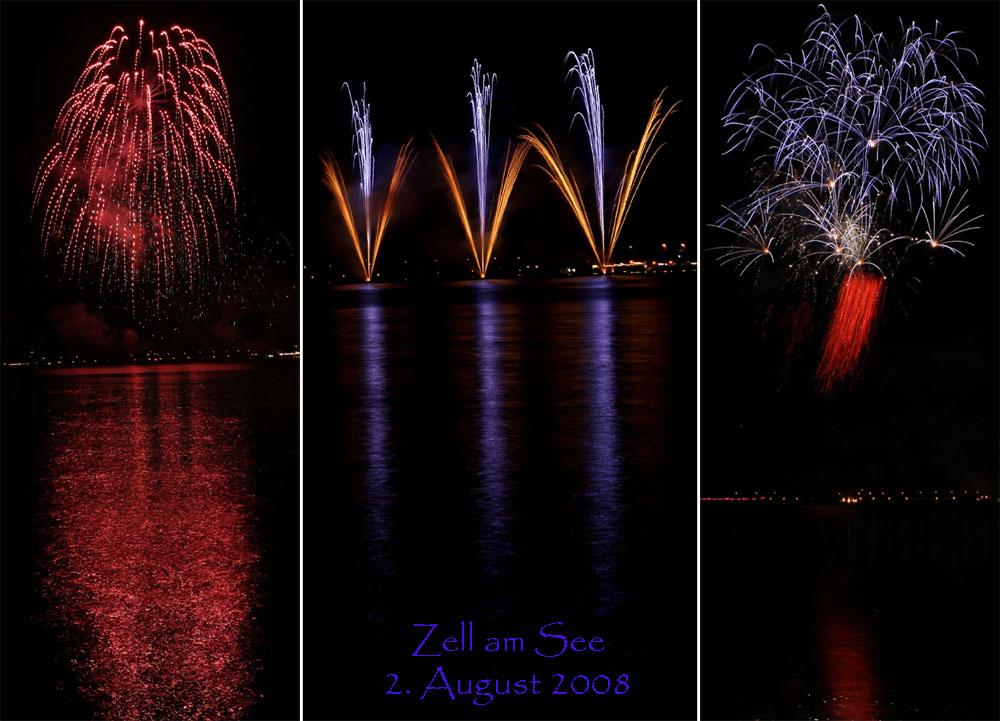 Feuerwerk in Zell am See III