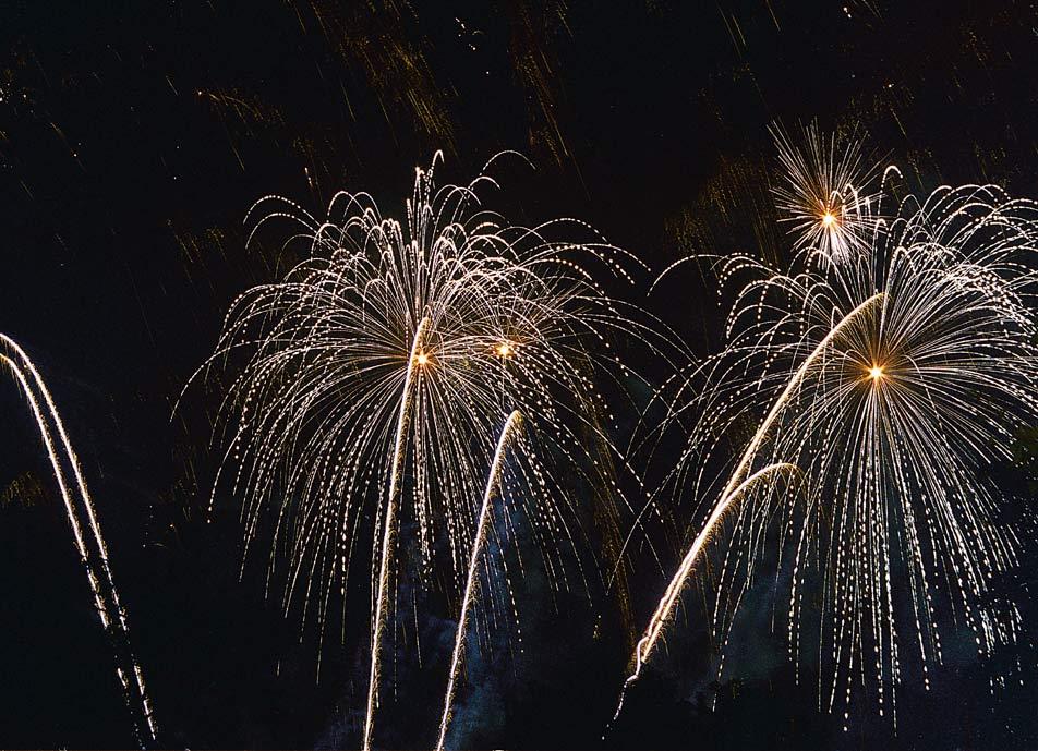 Feuerwerk IV beim LIchterfest DO 2007