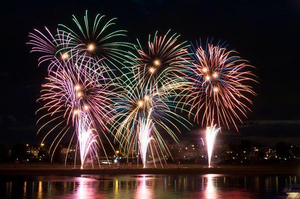Feuerwerk Japantag 2015