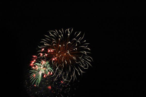 Feuerwerk Japantag Düsseldorf