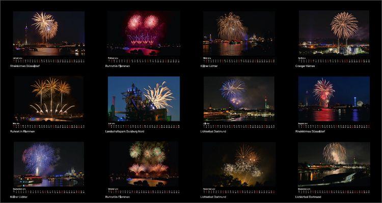 Feuerwerk Kalender 2016 ...