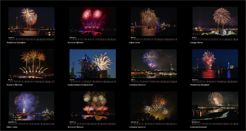Feuerwerk Kalender 2017 ...