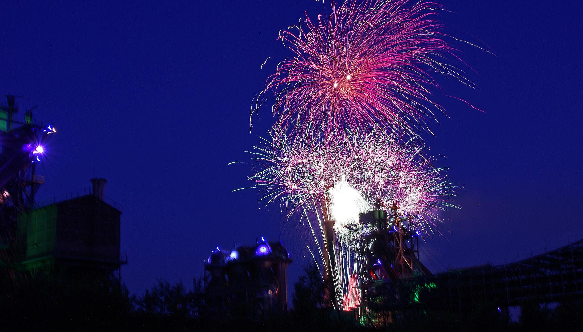 Feuerwerk Lapadu