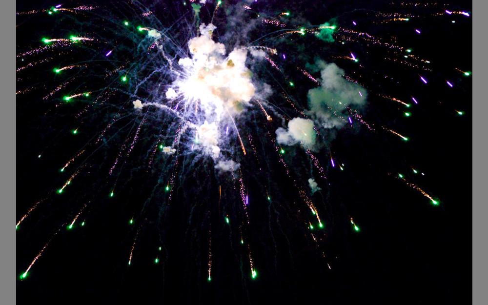 Feuerwerk Limone