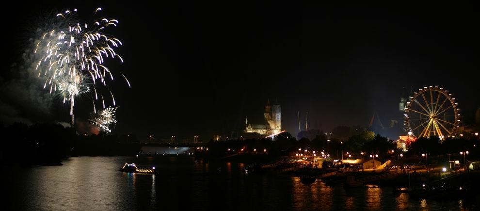 Feuerwerk Magdeburg