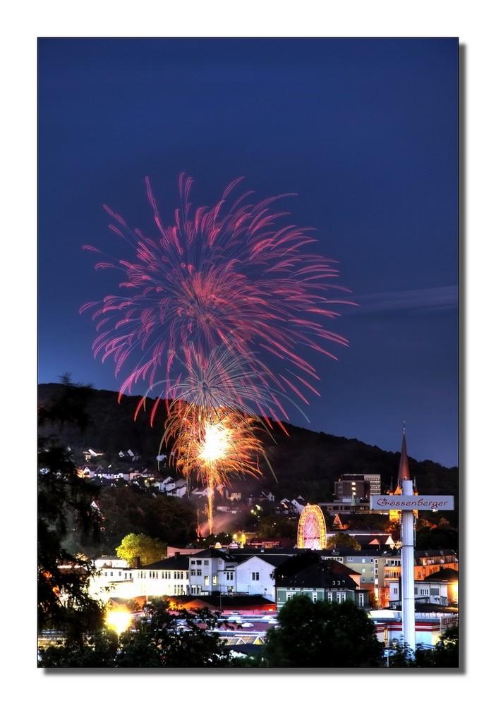 ~ Feuerwerk Mendener Pfingstkirmes 2009 ~