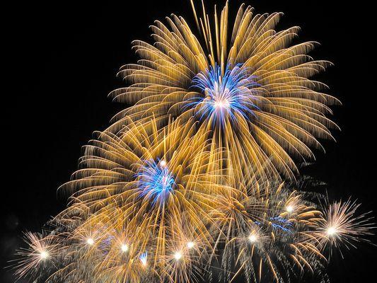 Feuerwerk ... (mit Anleitung)