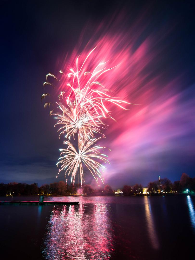 Feuerwerk Nordhorner Herbstkirmes