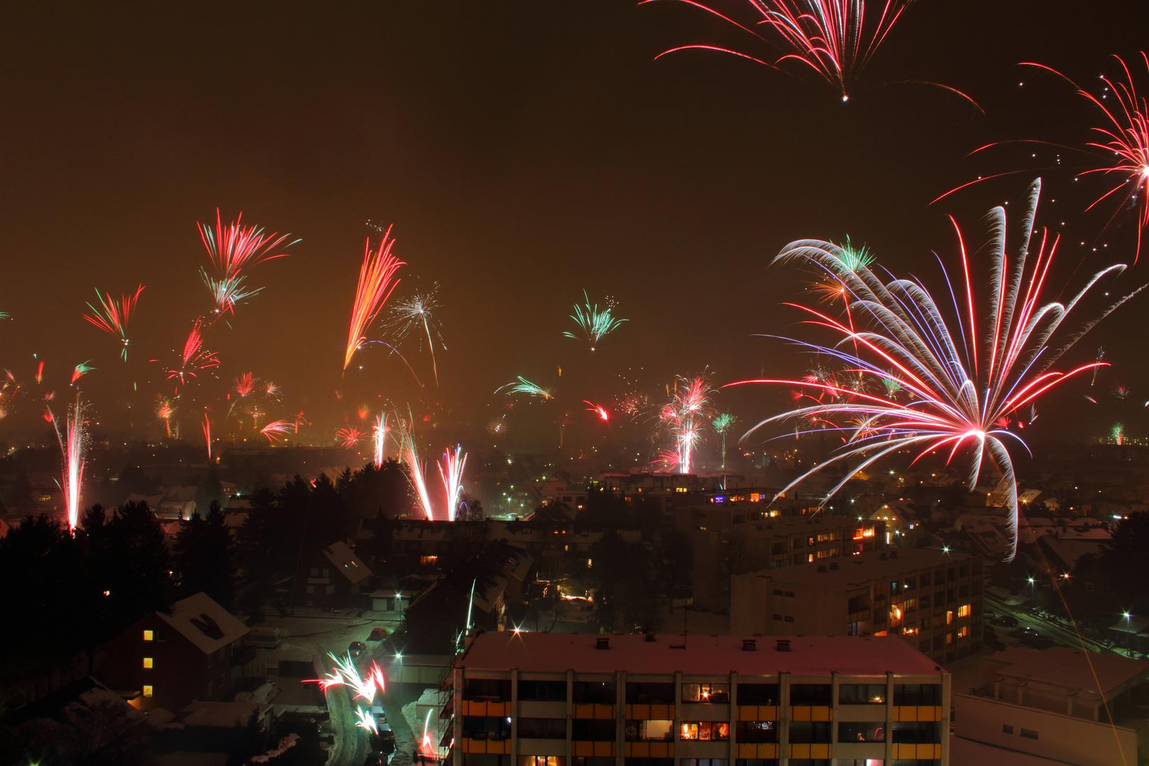 Feuerwerk NRÜ 2011