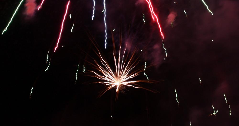 Feuerwerk - Pitztaler Schneefest 2008