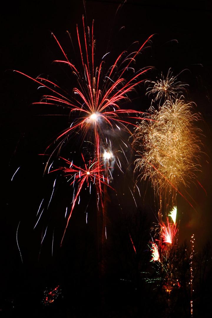 Feuerwerk Saarbrücken 12.2010