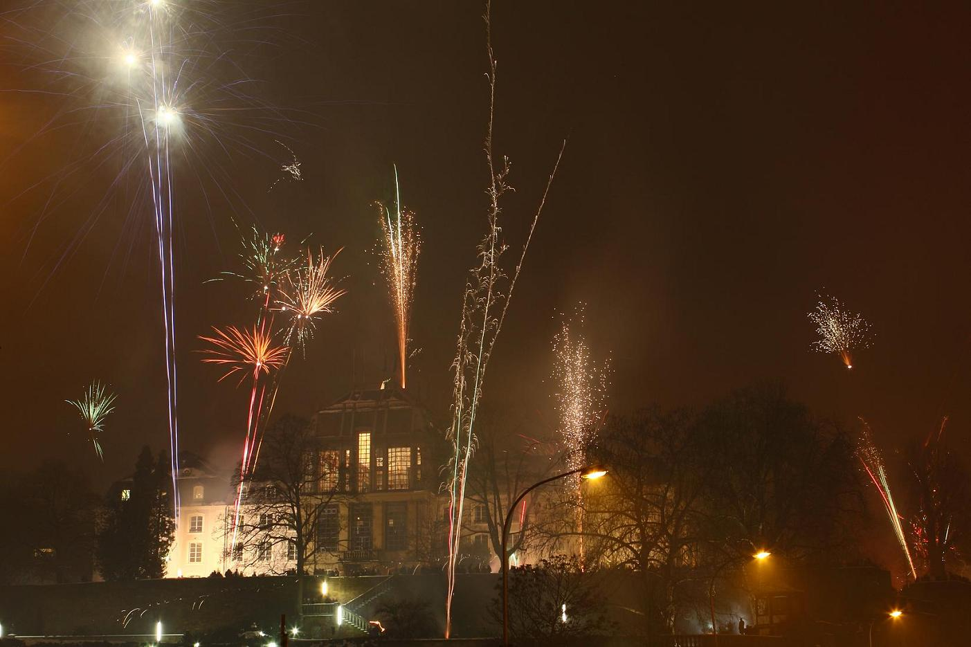 Feuerwerk Saarbrücken 31.12.2010