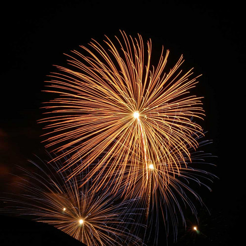 Feuerwerk Schlössernacht Potsdam 1