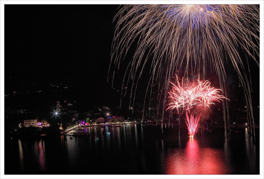 Feuerwerk Seefest Mattsee ... 07.2013