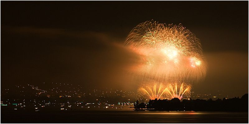 Feuerwerk Seenachtsfest Konstanz II