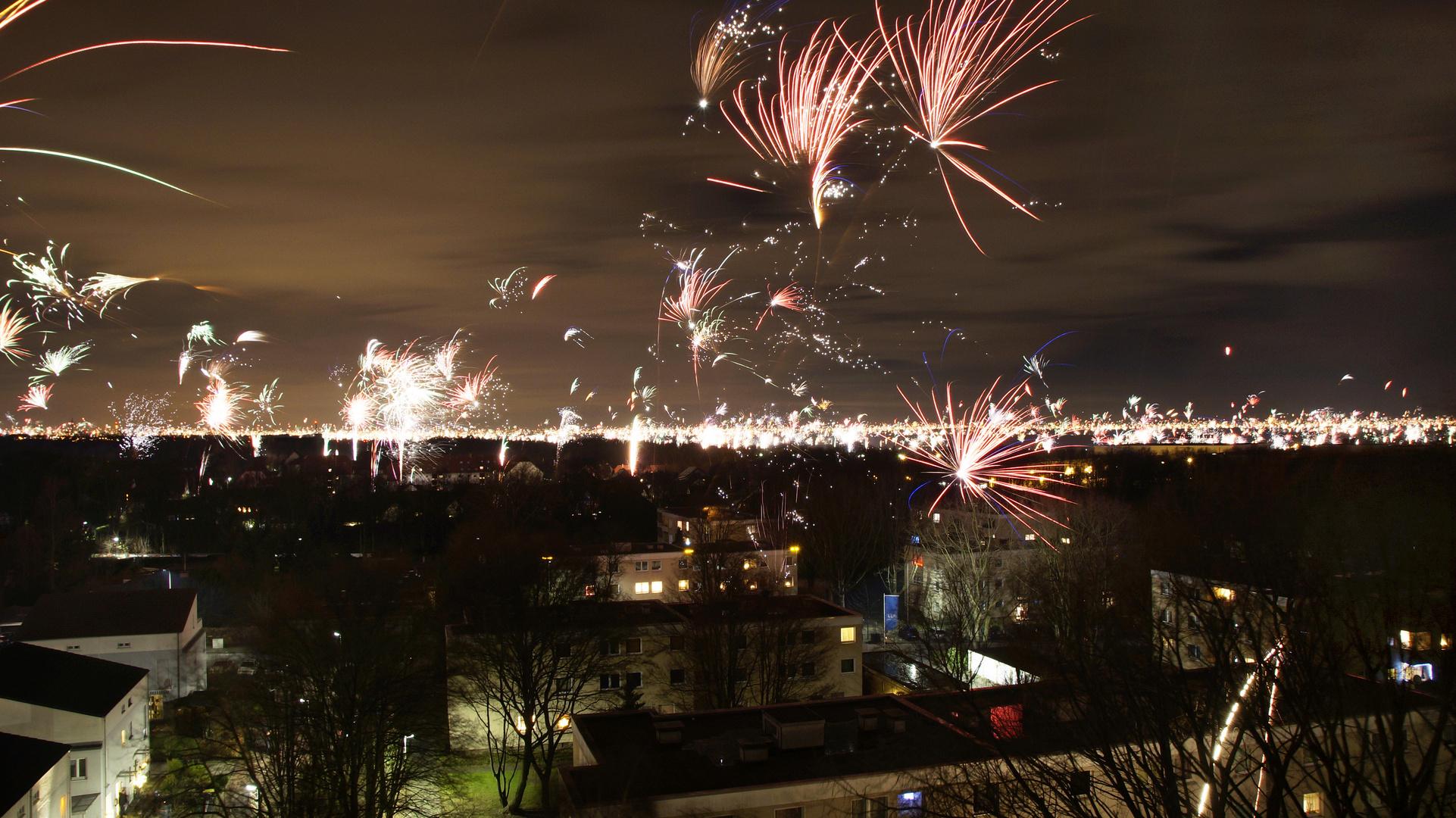 Feuerwerk Silvester 2014