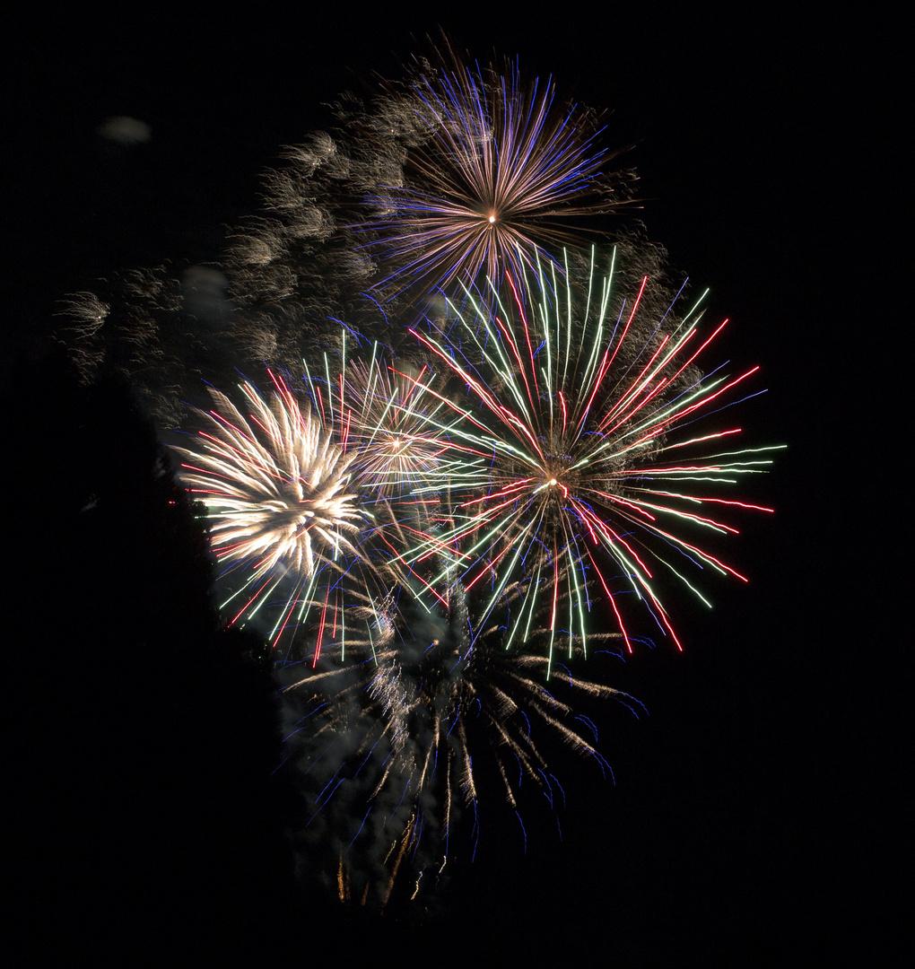 Feuerwerk Sommernachtstraum 2013