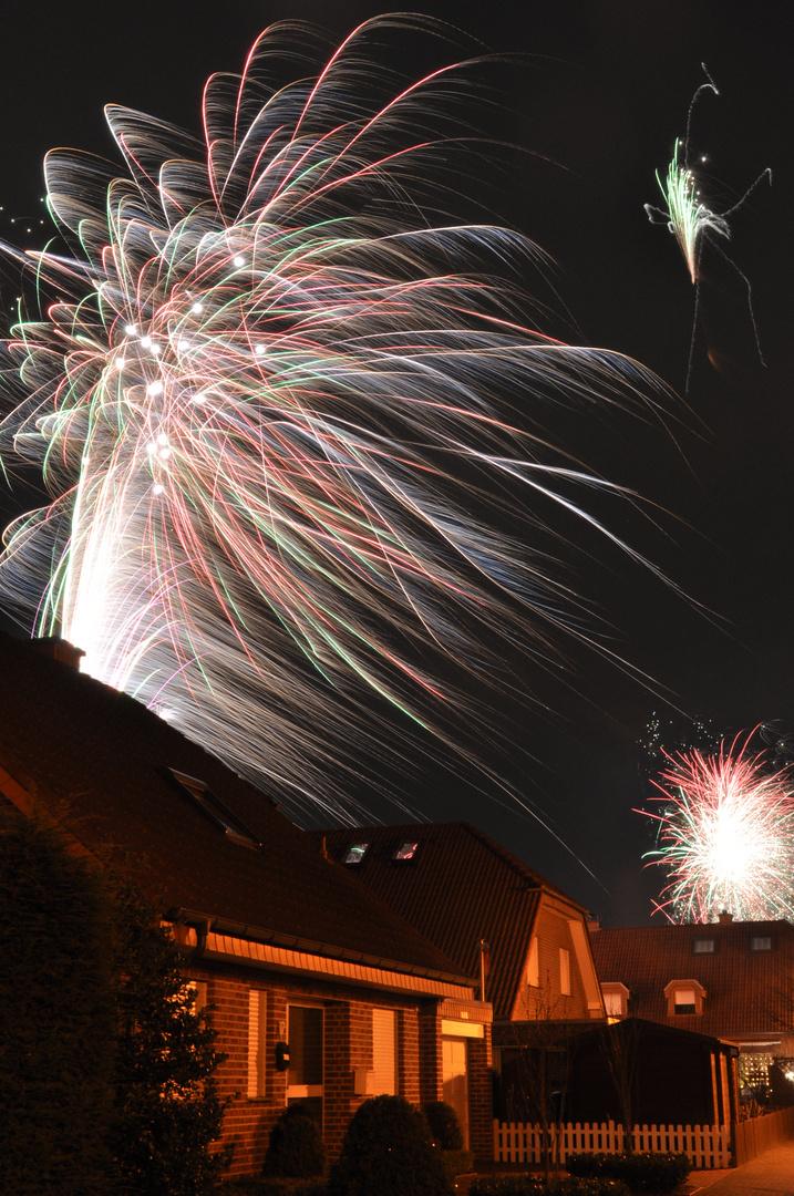 Feuerwerk Sylvester 2012