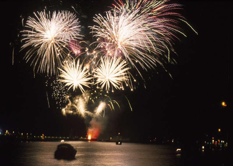 Feuerwerk Travemünder Woche 2001