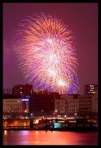 Feuerwerk über dem Dom