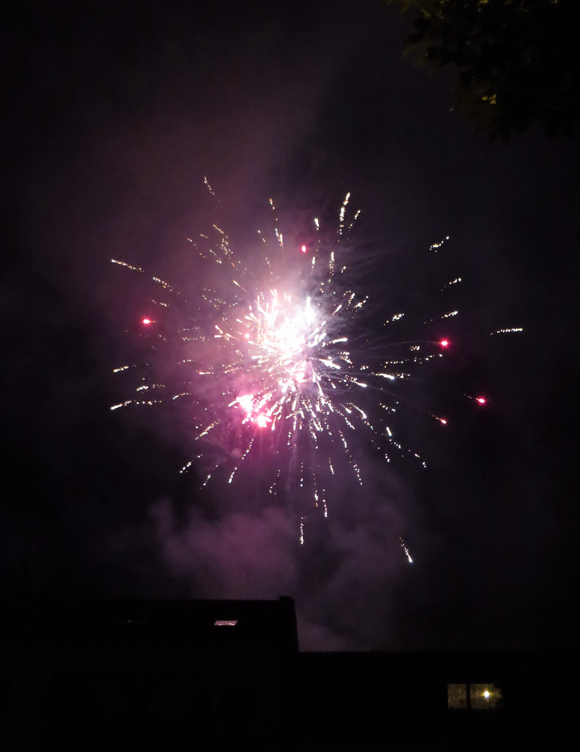 Feuerwerk über der Fürther Nacht
