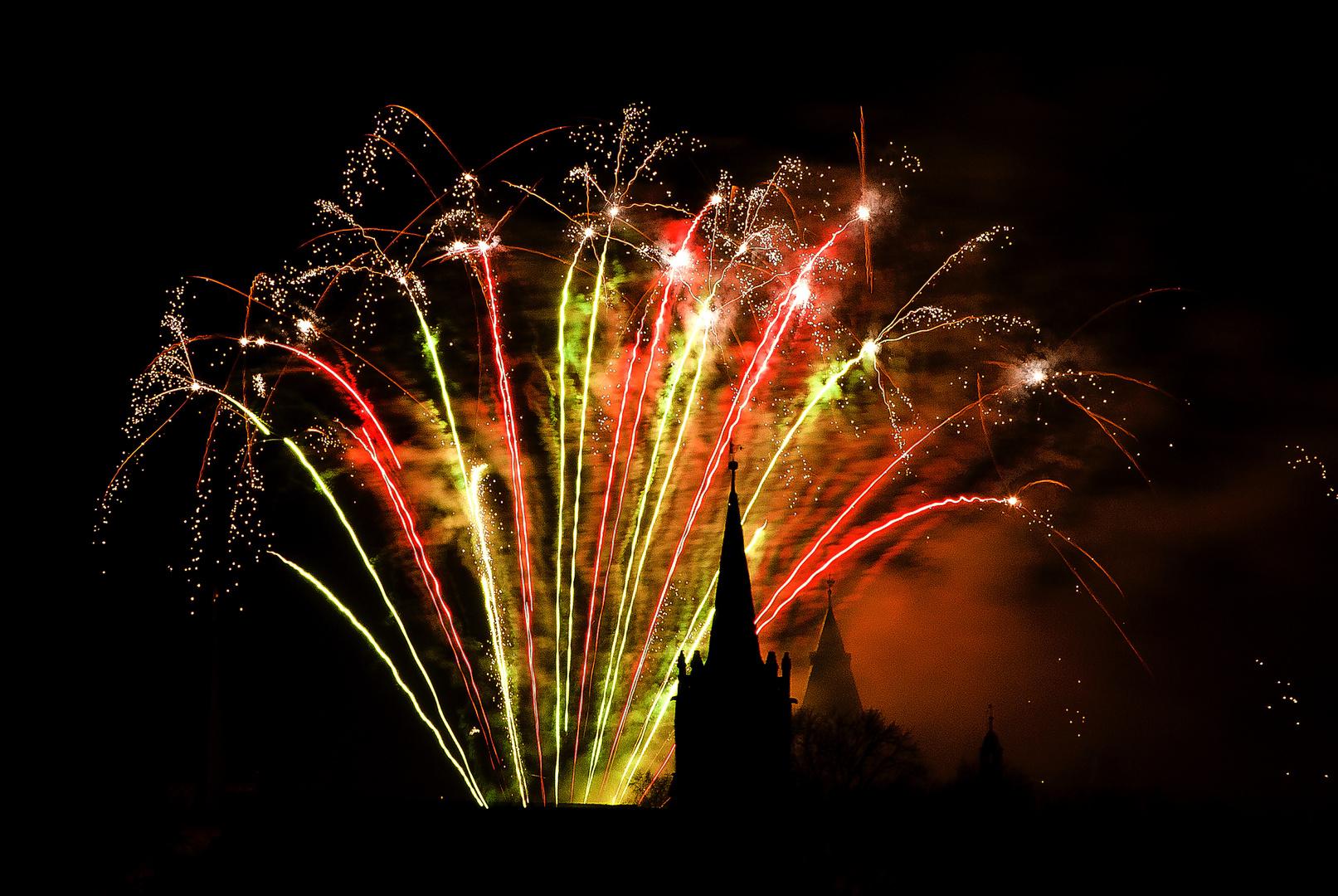 Feuerwerk über Mühlhausen 2