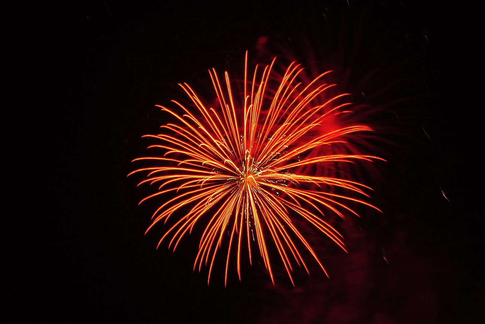 Feuerwerk über Mühlhausen 3
