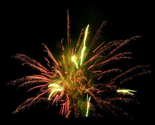 Feuerwerk über Wattenscheid