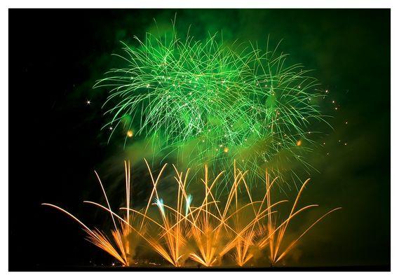 Feuerwerk Vaccalluzzo.
