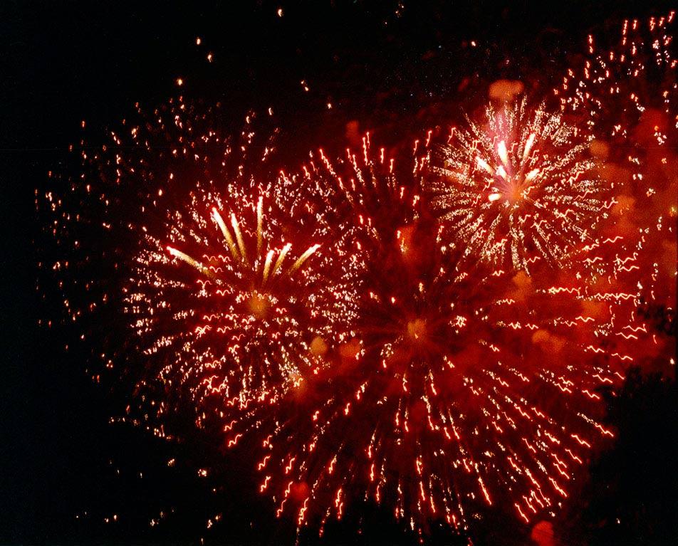 Feuerwerk VI beim LIchterfest DO 2007