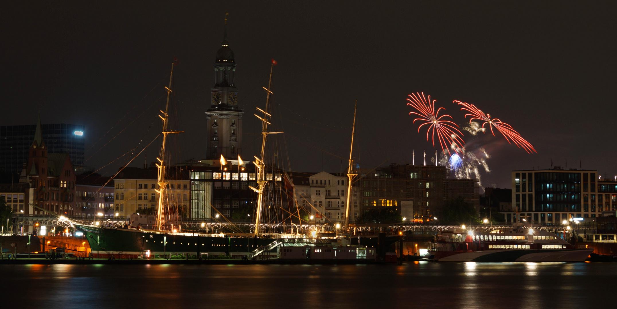 Feuerwerk vom Alstervergnügen 2013