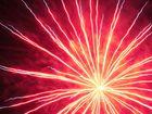 Feuerwerk zum 13. Tanz- und Musikfest in Dorndorf