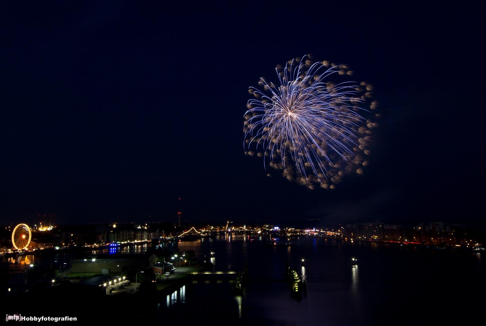 Feuerwerk zum 39. Wochenende an der Jade #3