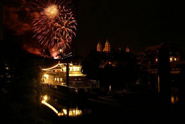 Feuerwerk, zum Brezelfest ,Speyer