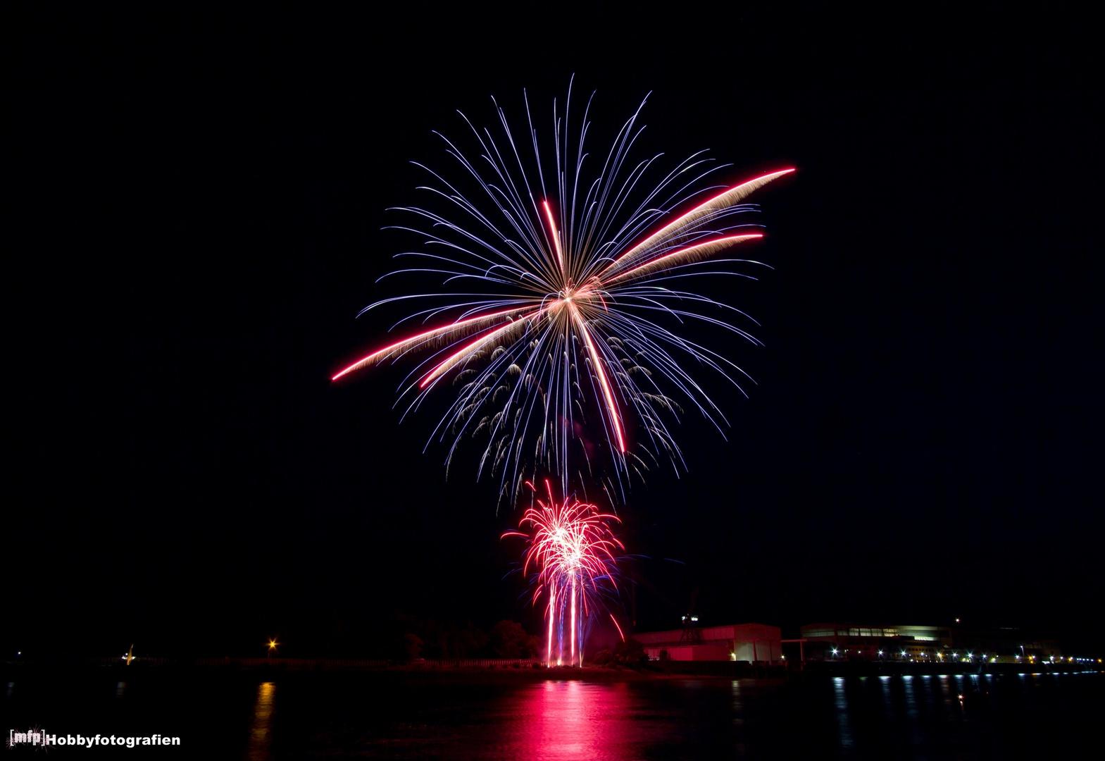 Feuerwerk zum Festival Maritim #2