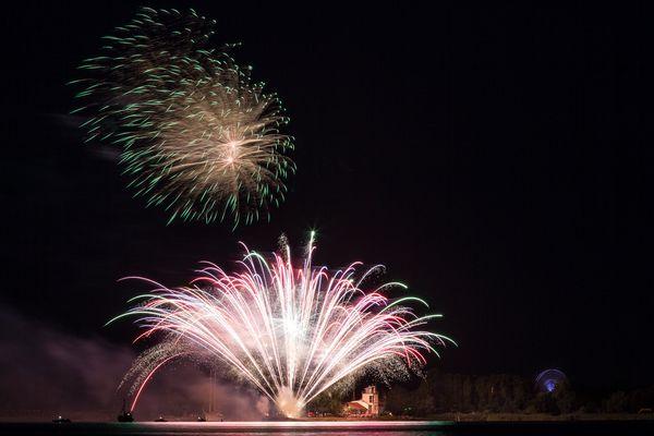 Feuerwerk zum Fischerfest