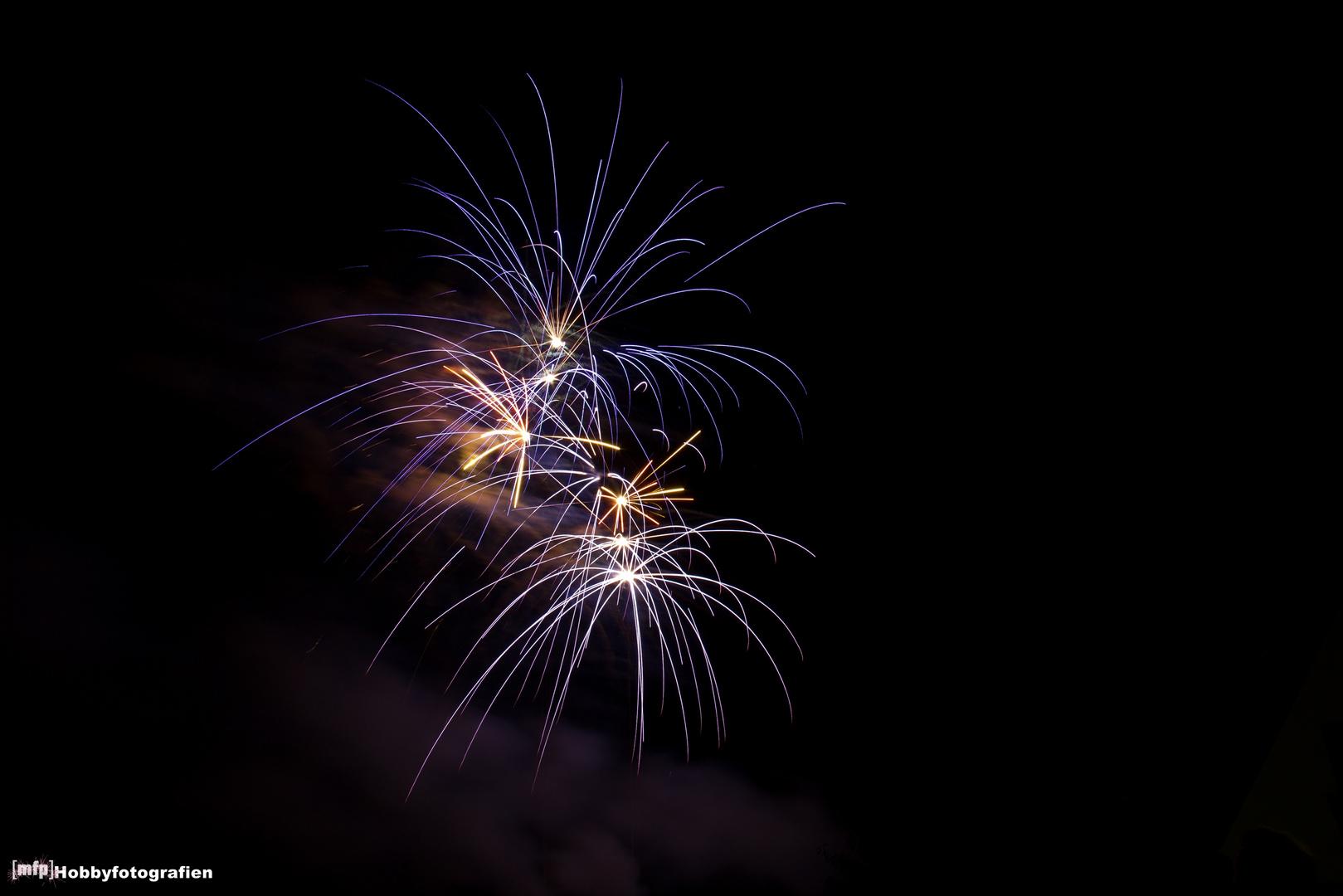 Feuerwerk zum Langwedeler Markt 2012