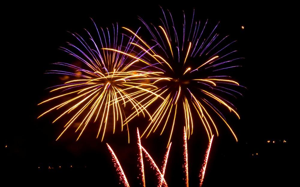 Feuerwerk zum Maientag 2