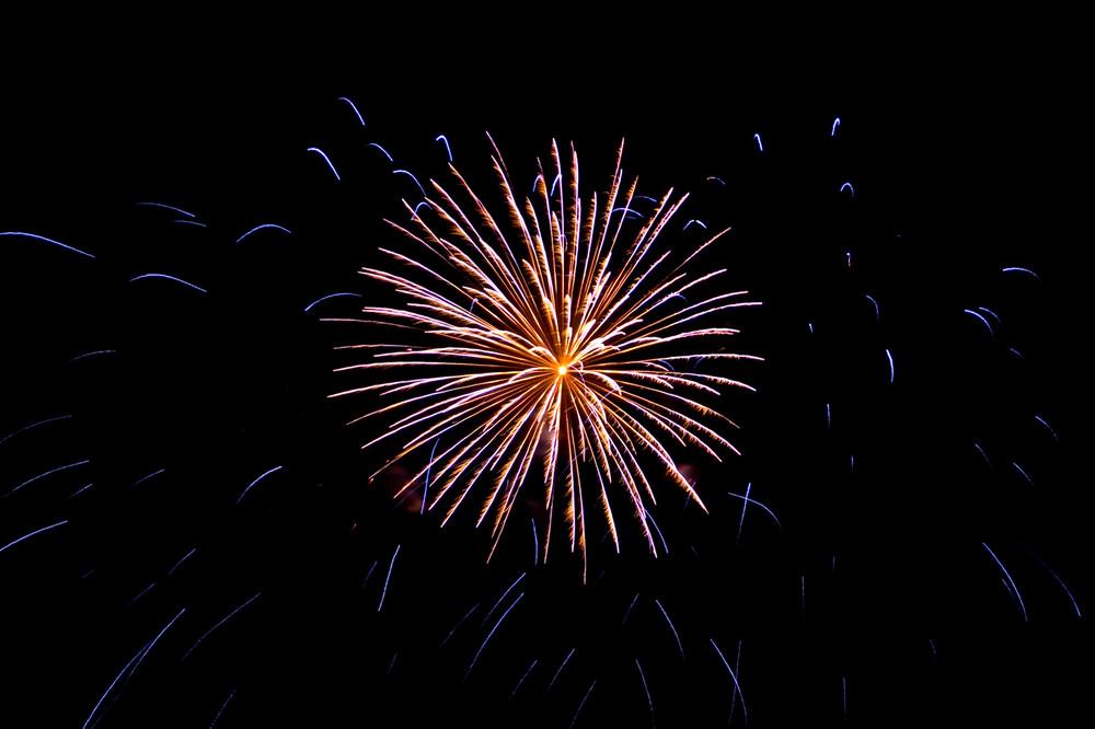 Feuerwerk zum Maientag