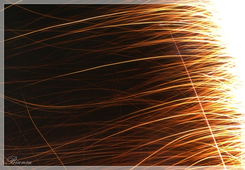 Feuerwerks-Funken