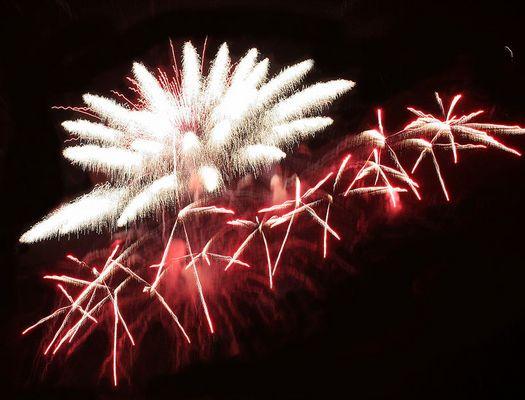Feuerwerksblüte 2 (Flammende Sterne Gera)