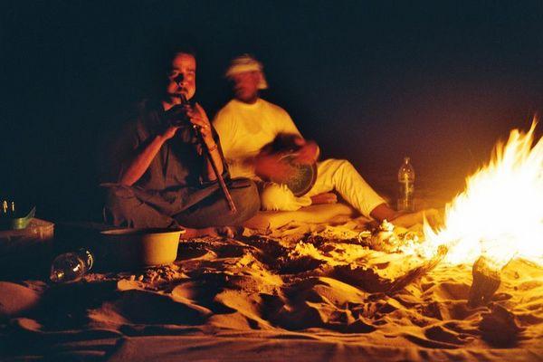 Feurige Beduinen