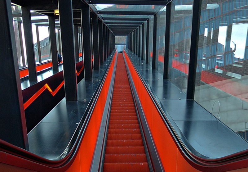 Feurige Rolltreppe....