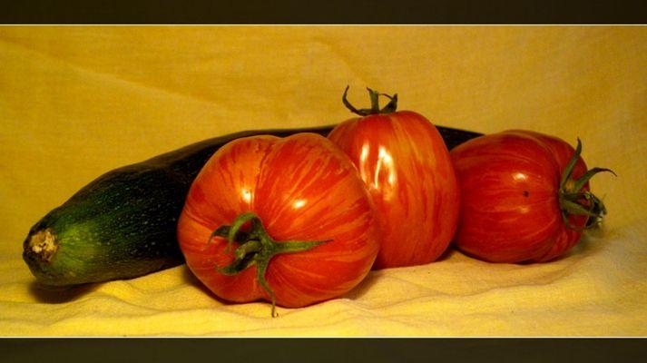 Feurige Tomate