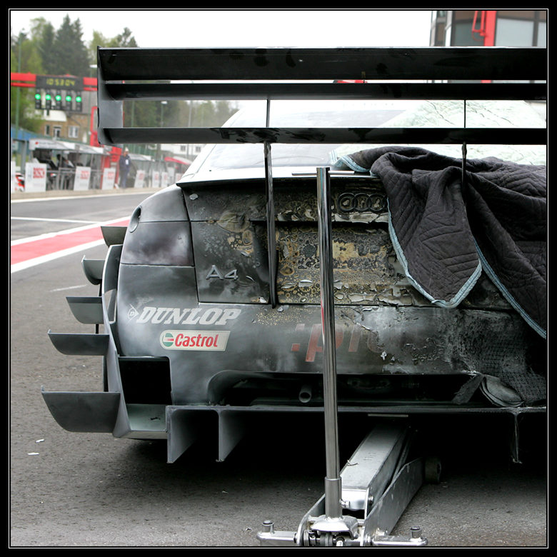 Feuriger Audi