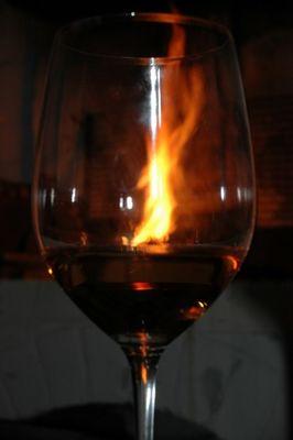 Feuriger Griechischer Wein