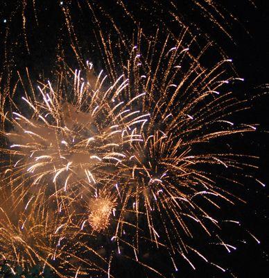 feux d'artice evian 2009