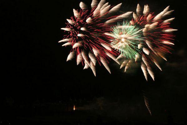feux d'artifice à Carcassonne