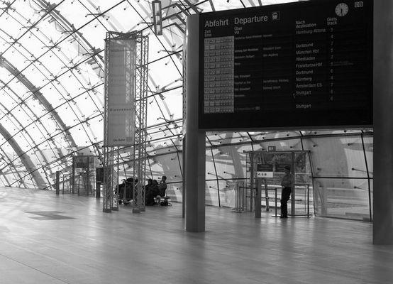 FFM Fcler Exkursion Flughafen